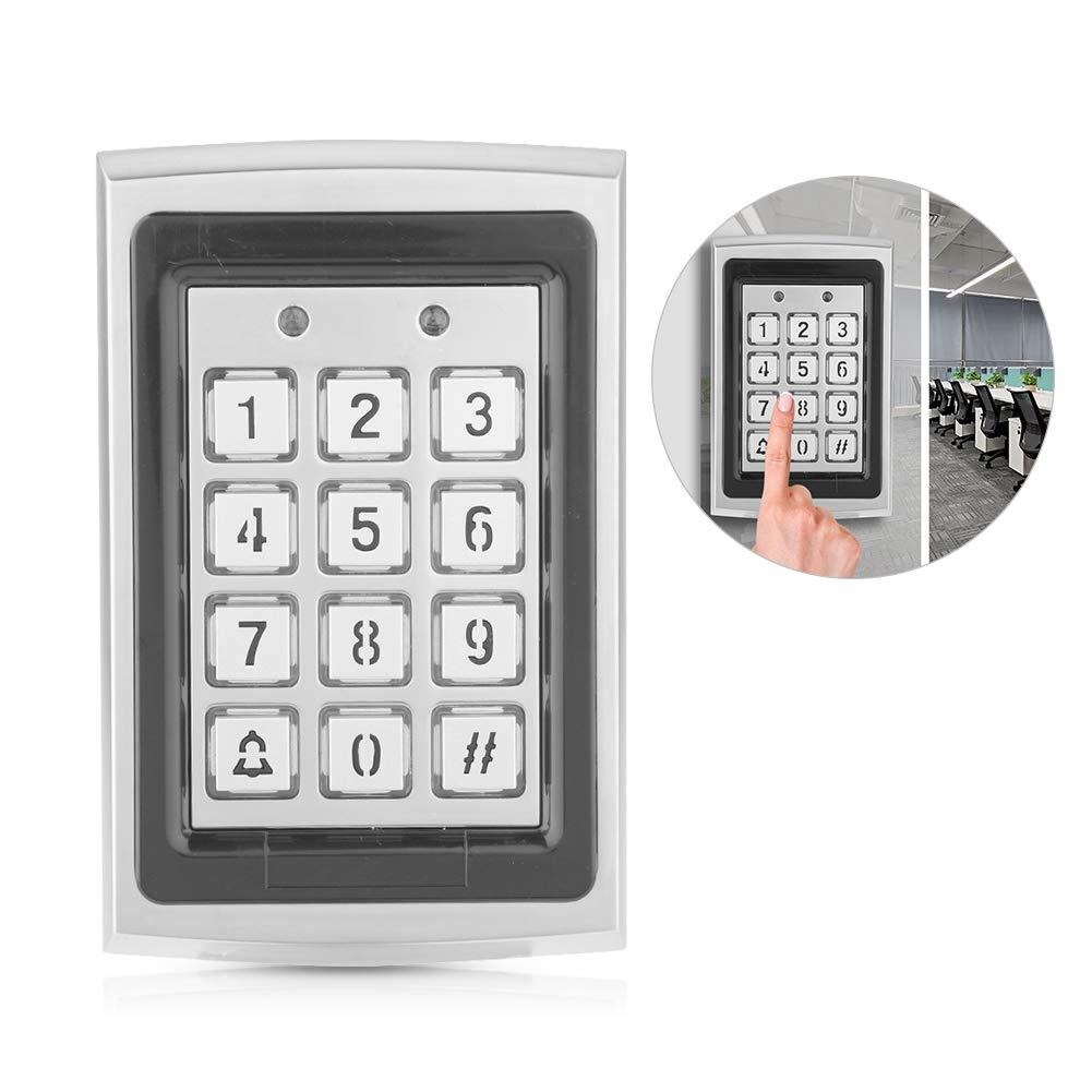 Bewinner 1000 usuarios est/ándar Oficina Control de Acceso de Puerta con retroiluminaci/ón para el hogar Teclado con Control de Tarjeta RFID