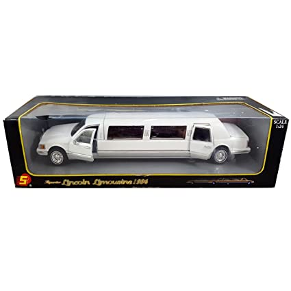 Amazon Com 1996 Superior Lincoln Town Car Limousine Die Cast