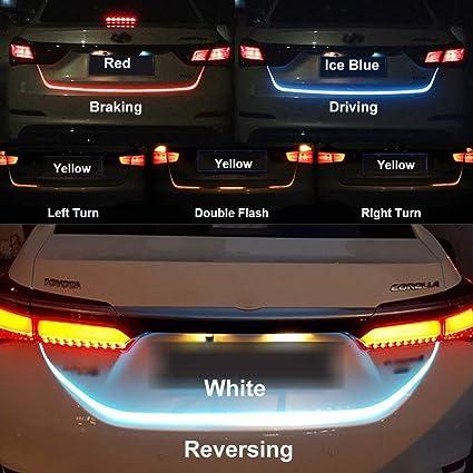 Leebo Tail Lights Streamer Brake Turn Signal Led Lamp Strip