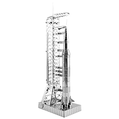 Fascinations Metal Earth Apollo Saturn V with Gantry 3D Metal Model Kit: Toys & Games