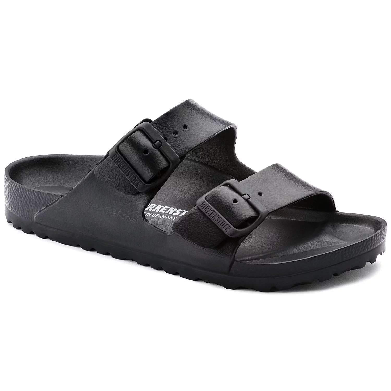3ee082e5b1089 Birkenstock Unisex Arizona Essentials EVA Black Sandals - 37 N