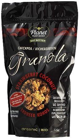 "Planet Plant Based Bio Granola ""fresas/ coco"" a base de ..."