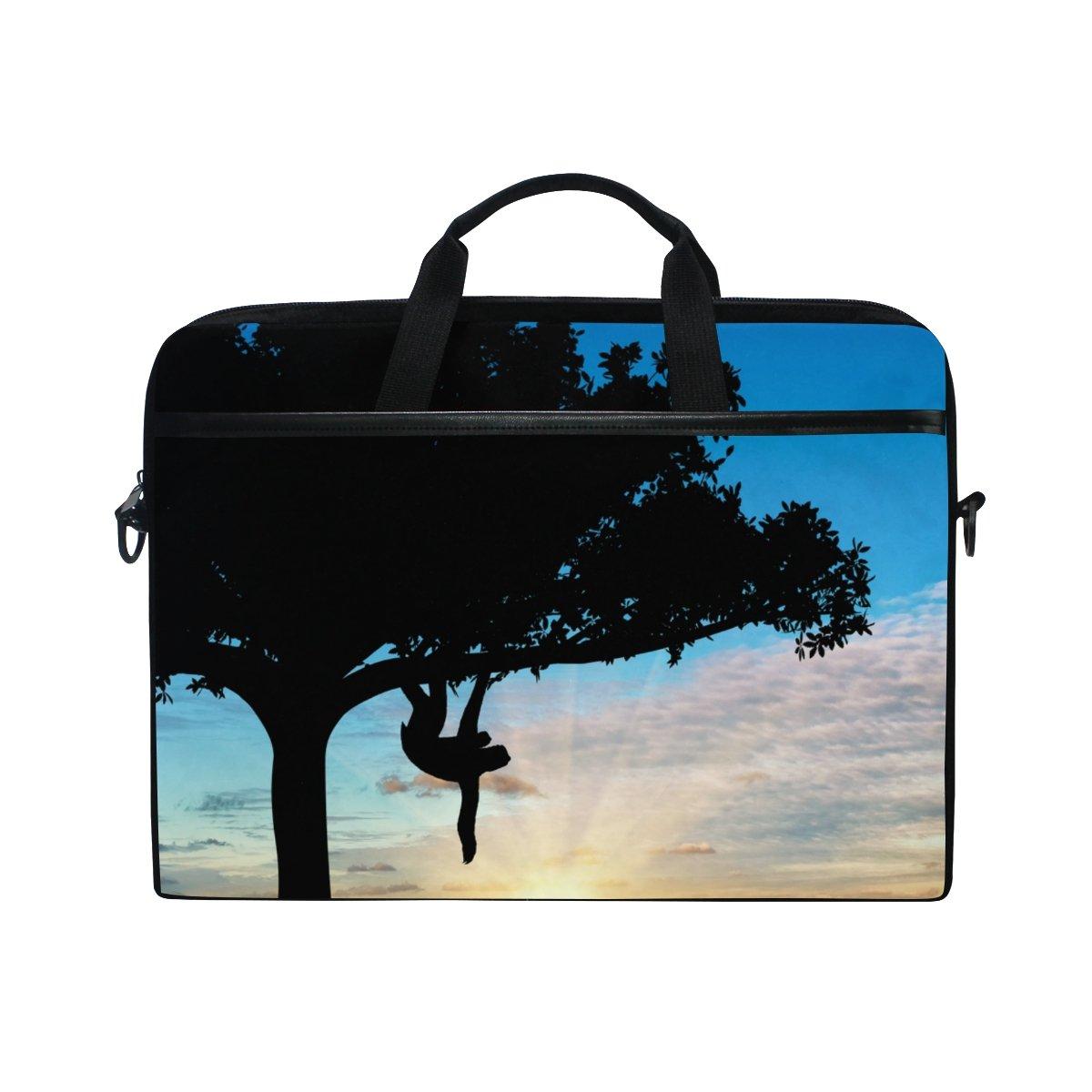 3e27d1964b 60%OFF ALAZA Sloth In A Tree Laptop Bag Shoulder Bag Briefcase Messenger  Tablet Bag