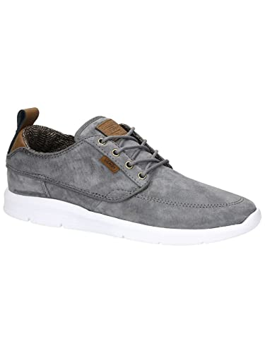 e49ca31f79 Image Unavailable. Image not available for. Color  Vans Brigata Lite US  Mens 7 Womens 8.5 S L Tornado Grey White Shoes