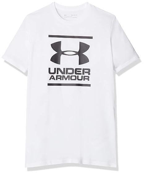 Under Armour UA Split Fragment Logo SS T Maglietta A Maniche Corte Uomo