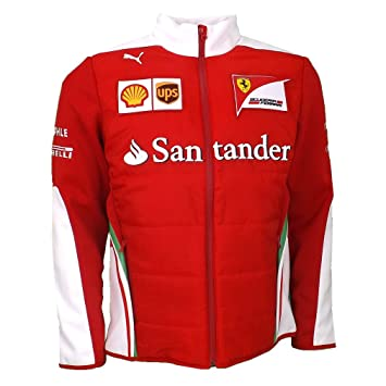 Ferrari Replica SF chaqueta F1 Team Racing rojo oficial 2016 ...