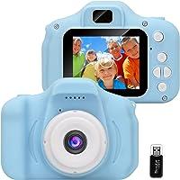 GlobalCrown Cámara para niños,Mini Digital Recargable Cámara Video Prueba de Golpes Regalos para niños de 3 a 8 años…