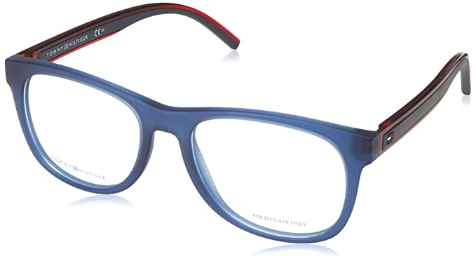 c2a35a56958 Image Unavailable. Image not available for. Color  Eyeglasses Tommy  Hilfiger Th 1494 0PJP Blue