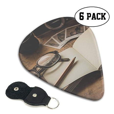 morjar Classic púa para Guitarra (6 Paquetes) Libro y Gafas de Sol ...