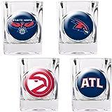 NBA Four Piece Square Shot Glass Set