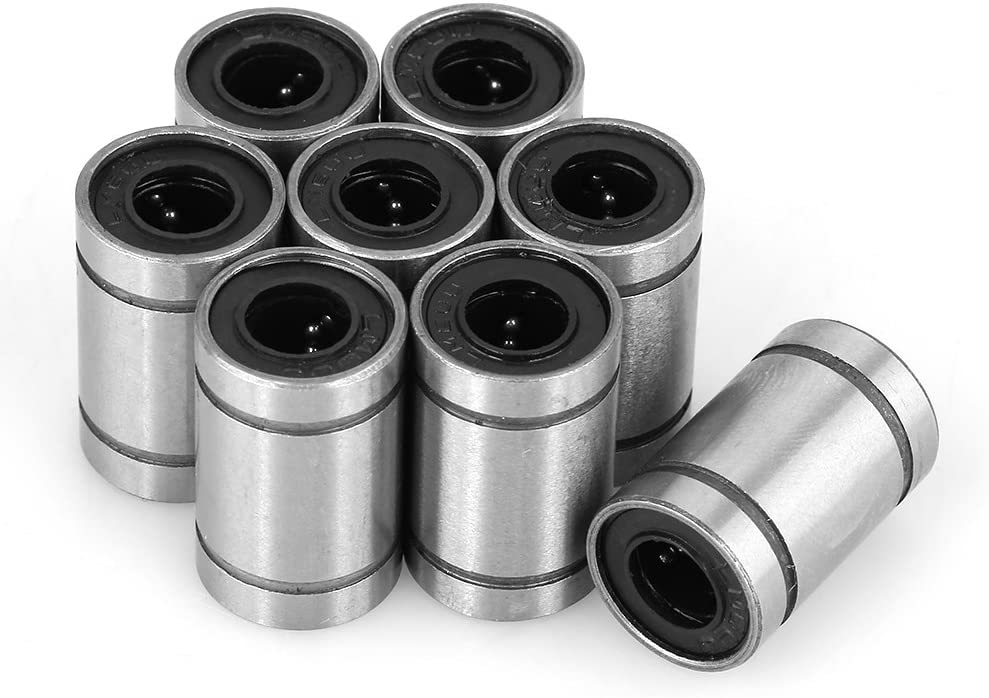 Linear Ball Bearing,Linear Motion Bearing Pack of 8( 6 12 19mm)
