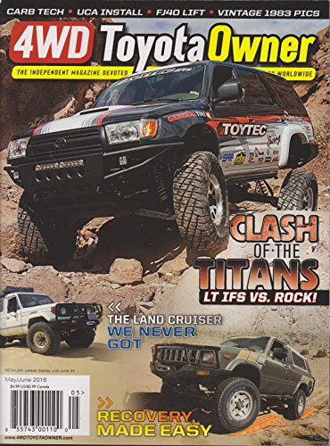 4WD Toyota Owner Magazine May/June 2016