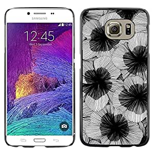 Be Good Phone Accessory // Dura Cáscara cubierta Protectora Caso Carcasa Funda de Protección para Samsung Galaxy S6 SM-G920 // Art Flower Blossoms Design