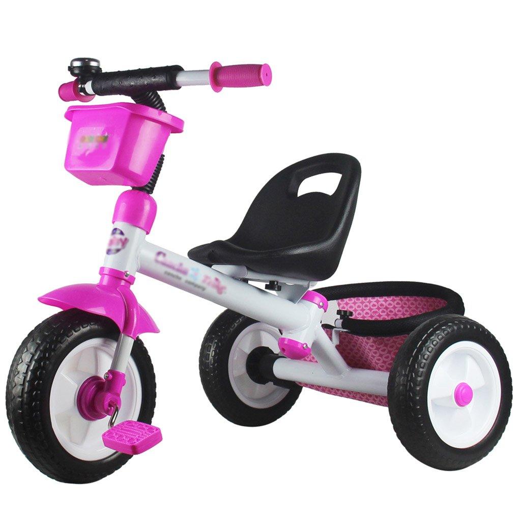 子供用トライク、三輪車の乗り物バイク、赤ちゃんの滑り自転車、おもちゃの自転車、自転車の子供、フットペダルの3つの車輪 (色 : C) B07CZF9VYD C C