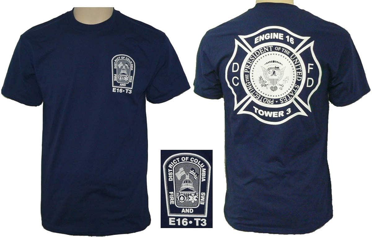Washington D C Fire Department White House District T Shirt