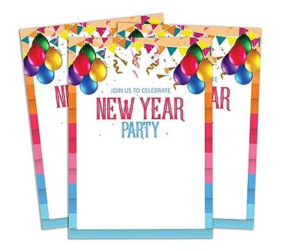Darling Souvenir Multicolor Año Nuevo Tarjeta De Invitación