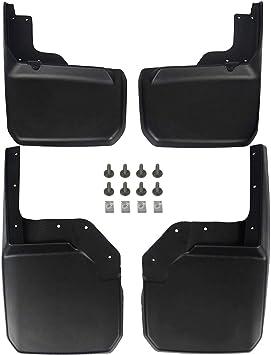 PROBASTO Jeep Wrangler JK Mud Flap//Splash Guard No-Drill Digital Fit Mud Flap for Wrangler JK 4WD Wrangler Unlimited JK 4WD//2WD