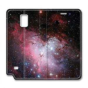 Orion and Dark Nebula Design Leather Case for Samsung Note 4 Network Nebula