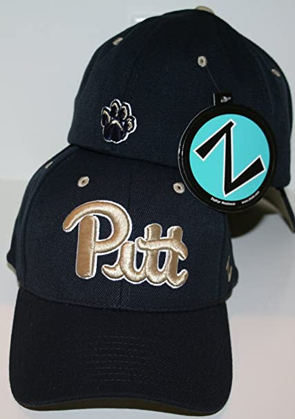 dcf08efb1 Amazon.com : ZHATS Pittsburgh Panthers Blue DH Fitted Hat Size XL ...