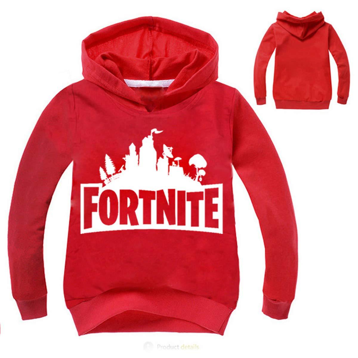 Abel Mall Fortnite Hoodie Hooded Sweatshirt Long Sleeve Jackets for Kids,Boys,Girls