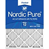 Nordic Pure 20x30x1 MERV 12 Pleated AC Furnace Air Filters 6 Pack