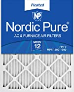 Nordic Pure 16x24x1 MERV 12 Pleated AC Furnace Air Filters 6
