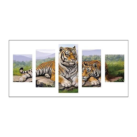 Root Ancha Tiger 5d DIY Completo Broca Diamante Pintura 5 de ...