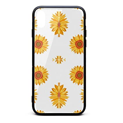 Amazon Com Hiunisyue Iphone Xs Max Case Sunflower Wallpaper 9h