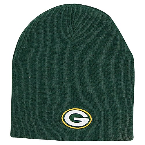 Reebok NFL Green Bay Packers Official Winter Knit Beanie Skully Hat Cap