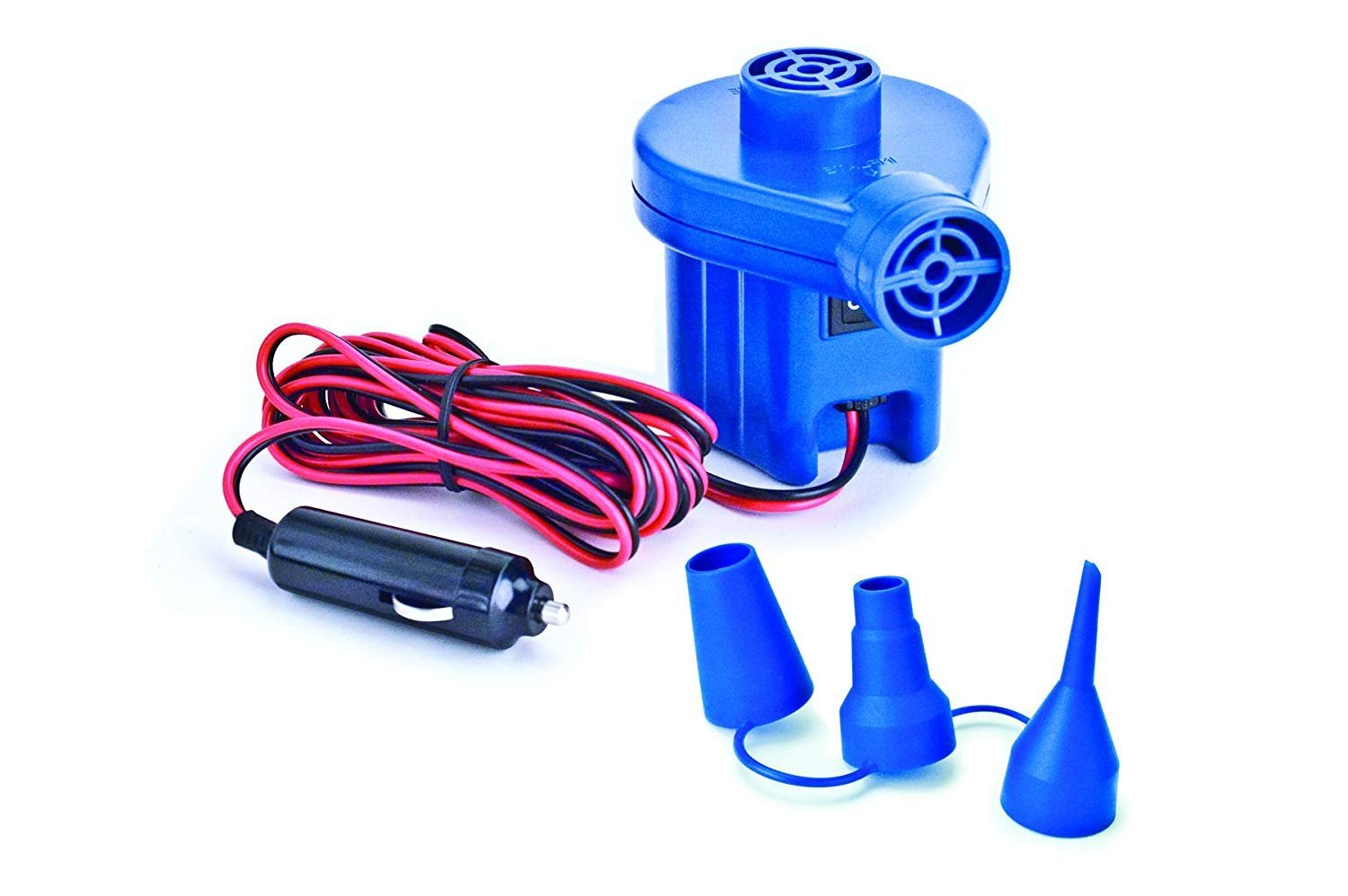 12V Accessory Outlet Electric Pump for Inflatables (Premium pack)
