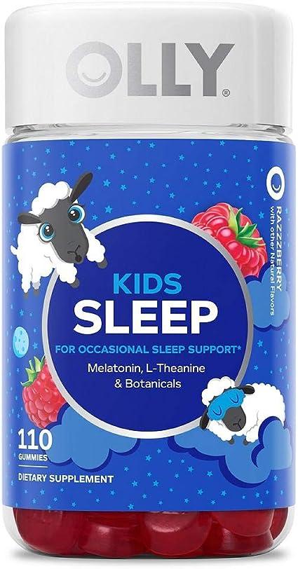 Amazon Com Olly Kids Sleep Gummies Supplement With Melatonin L