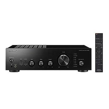 Pioneer A-40AE Alámbrico Negro - Amplificador de Audio (106 dB, 10-