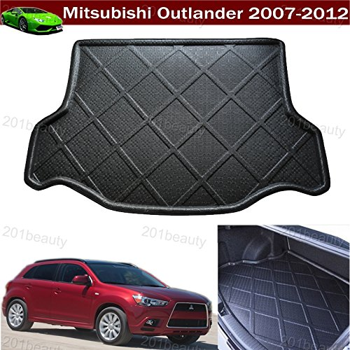 Car Boot Pad Cargo Mat Cargo Liner Cargo Cover Trunk Liner Tray Mat Floor Mat Custom Fit For Mitsubishi Outlander 2007 2008 2009 2010 2011 2012 - Mitsubishi Outlander Custom Mats