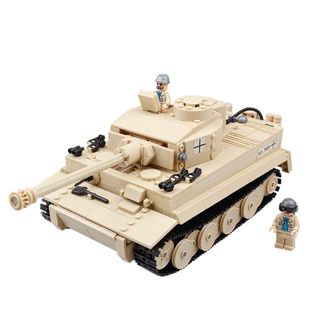 EP-model Modell Spielzeug, Weltkrieg Waffe 955+  Tiger Tank Artillerie Modell Vintage Militärische Dekoration Souvenir, 16 X 12  X 3