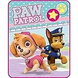 PAW Patrol Skye Soft Pink Fleece Blanket Throw