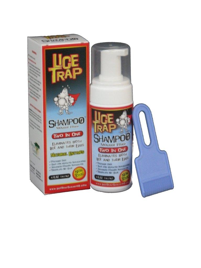 Lice Trap Shampoo - 4 oz Foam Lice/Nit Remover