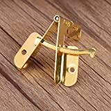 GLOGLOW Spring Hinge,20pcs 90° Angle Support Small