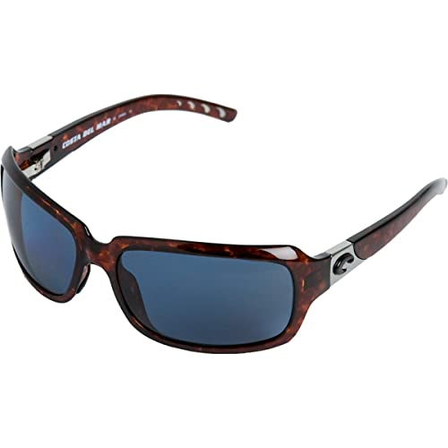 c188cd0604daa Costa Del Marcosta IB10OGP Isabela Sunglasses Tortoise Frame Frame  Frame Gray 580P