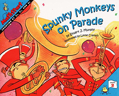 (Spunky Monkeys on Parade (MathStart 2))