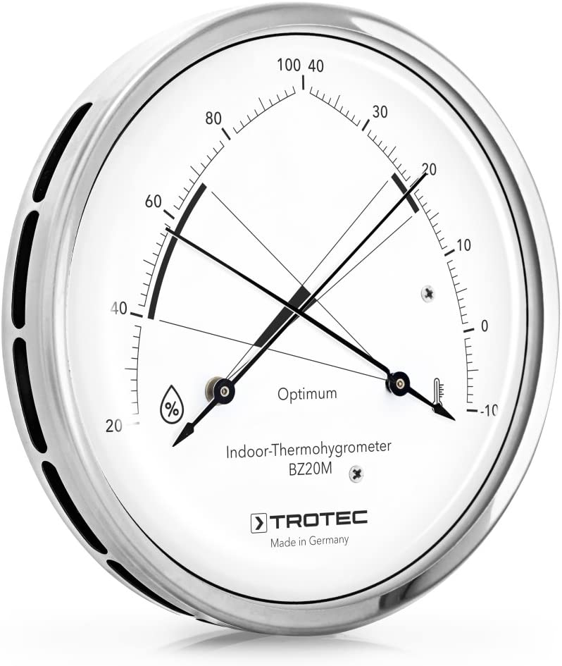 TROTEC Thermohygrometer BZ20M Hygrometer Thermometer Raumklima Luftfeuchtigkeit