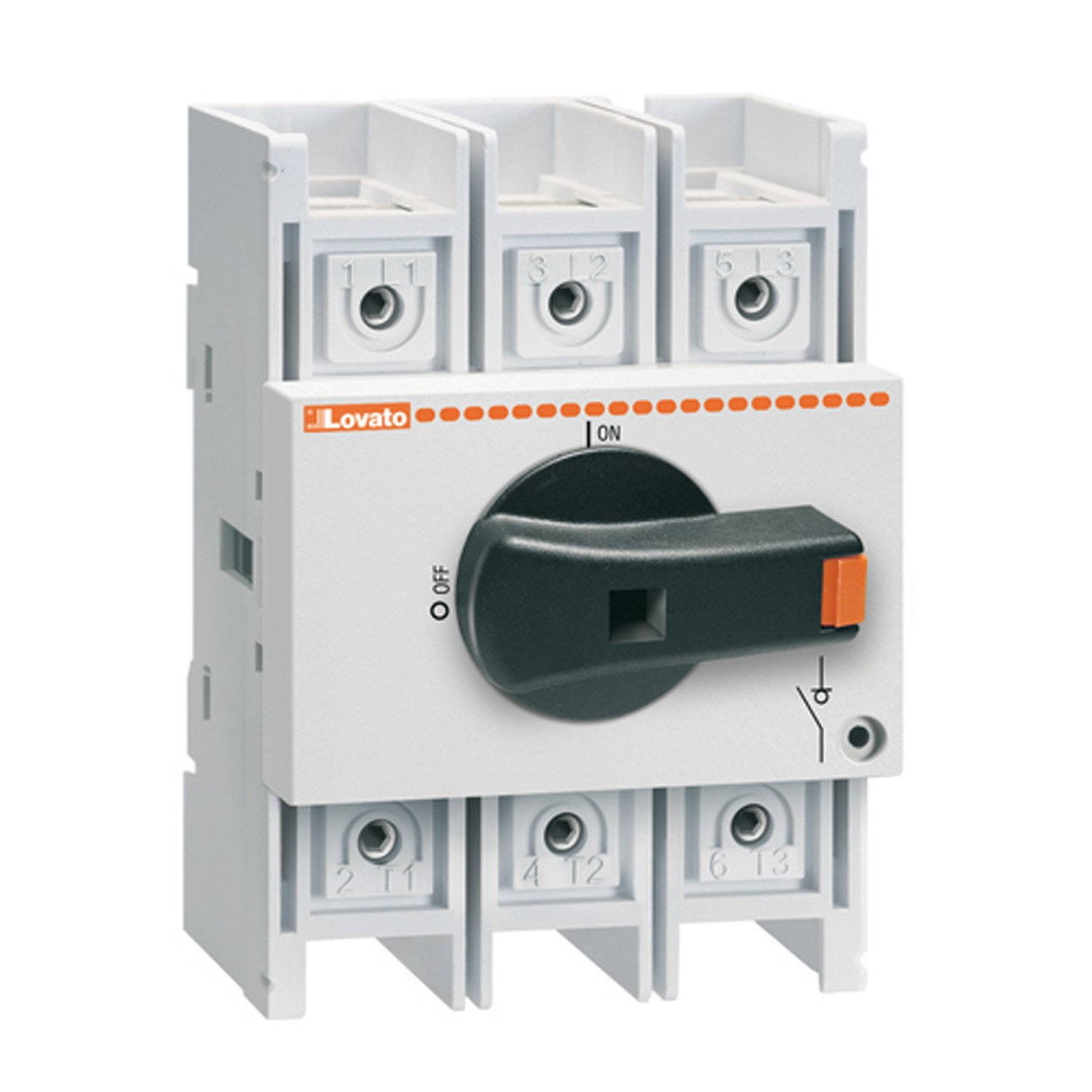 UL Listed 16 Amp ASI GA016A Disconnect Switch Panel Mount 3 Pole