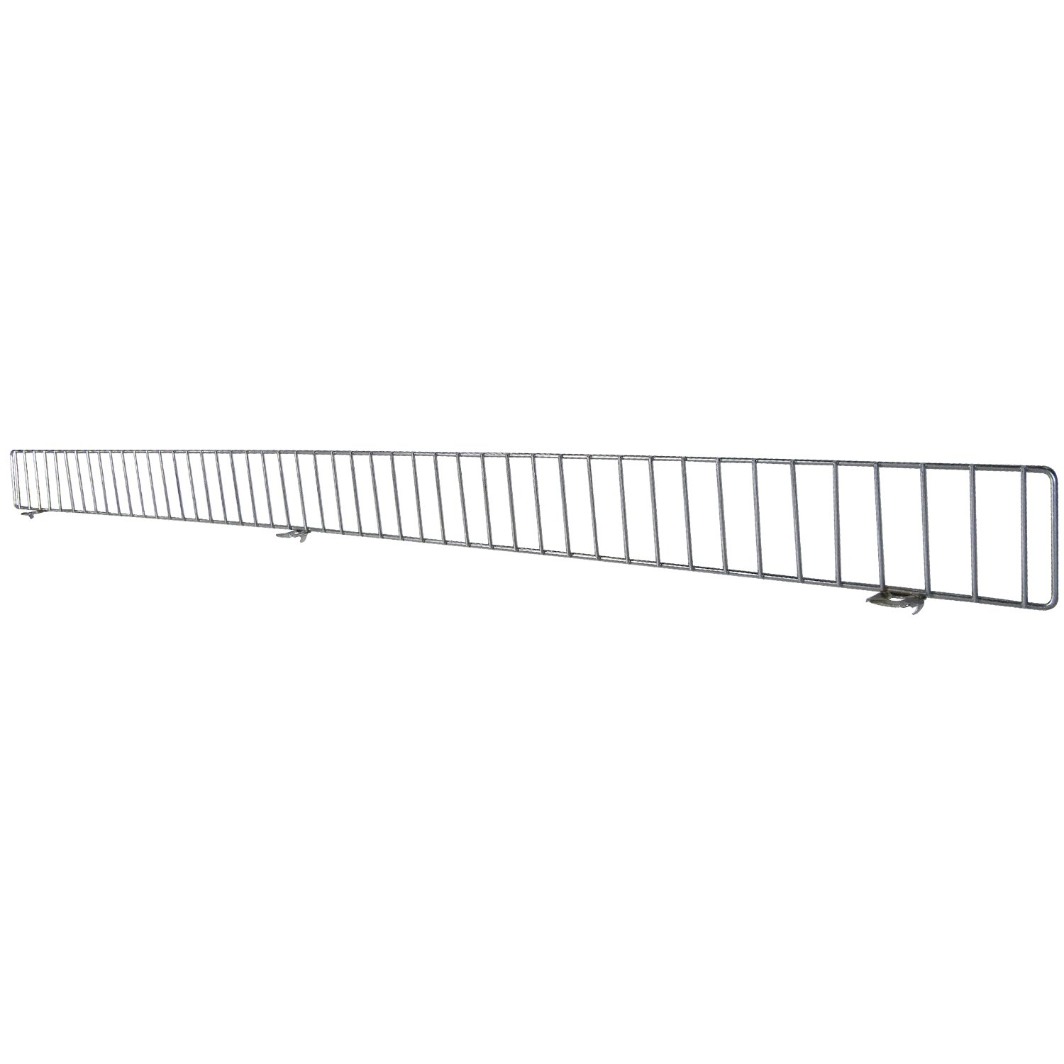 AWP CA-FDF348CN-1 Chrome Front Fence Lozier/Madix, 3 x 48 Size, Chrome, (Pack of 25)
