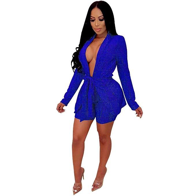 Amazon.com: Conjunto de trajes de dos piezas para mujer ...