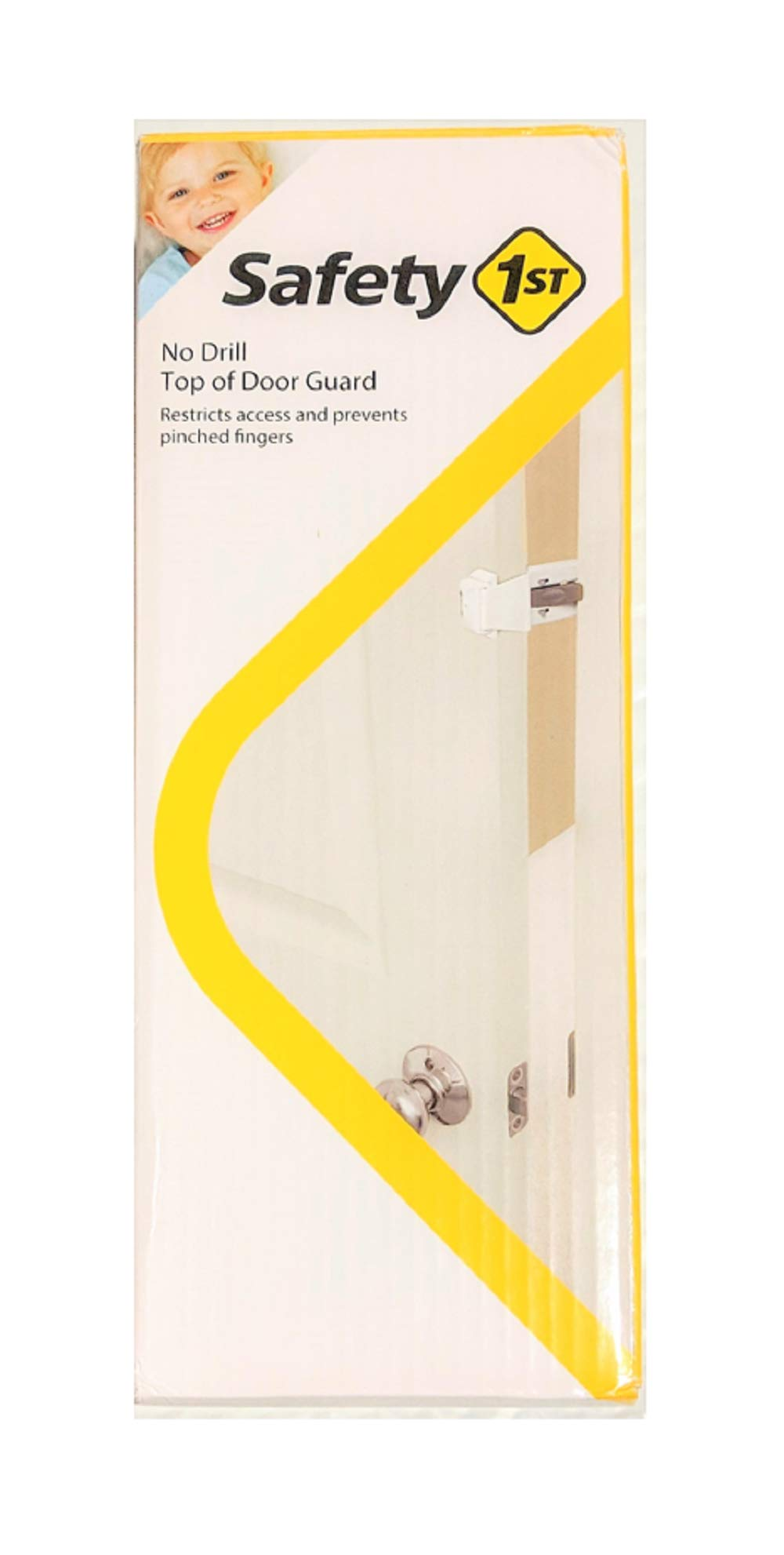 Safety 1st Prograde No Drill Top Of Door Lock, 4-Pack