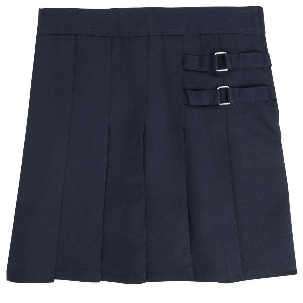 French Toast Uniforms Girls' Plus Size Scooter Skort (Navy 20.5)