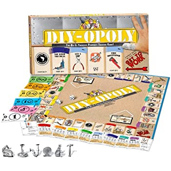 Amazon do it yourself opoly toys games do it yourself opoly solutioingenieria Gallery