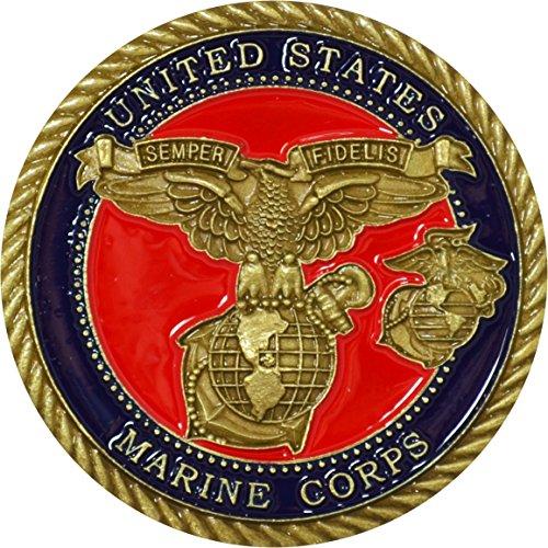 US Marine Corps Gunnery Sergeant Challenge Coin - Marine Corps Gunnery