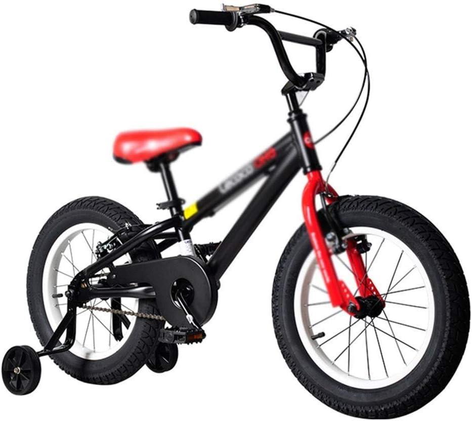 WJTMY Bicicletas for niños, Bicicletas niños for niños y niñas, 3-8 años Niño de Bicicletas de montaña de aleación de magnesio City Girl-o-Terreno de 16 Pulgadas Bicicleta bicis