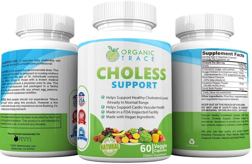 Choless Support 1 Recommended Cholesterol Supplement. Supports Healthy Cholesterol Levels and Heart Health With All-Natural Powerful Cholesterol Complex. Control Your Cholesterol Naturally