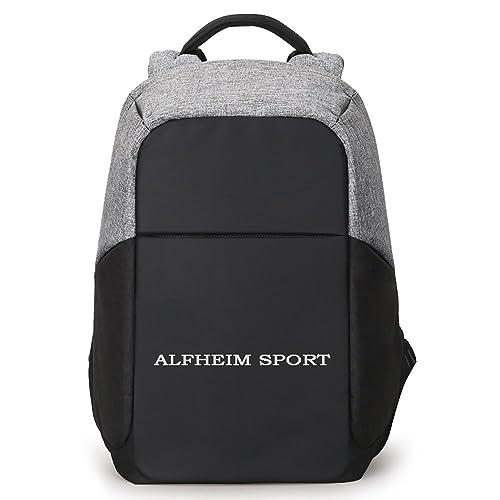 Laptop Backpack, Alfheim Canvas College Backpack School Bag Fits 13inch Laptop MacBook Pro